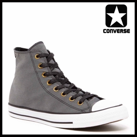fb20f3e869c2 Converse Stylish Sneakers Black High Tops Chucks